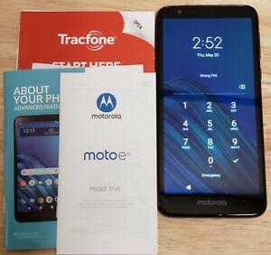 Tracfone Motorola Moto E6 [Used, Very Good]