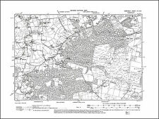 OLD ORDNANCE SURVEY MAP FROME 1902 BROADWAY TRINITY KISSING BATCH COTTLES OAK