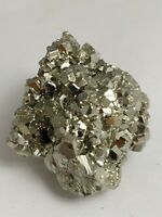 Gorgeous pyrite crystal cluster specimen, Peru 158.1 grams!!!  AAA fools gold!!!
