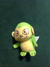 Neopets GREEN MYNCI Plush 2008 Burger King Monkey