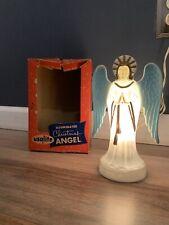 Vintage Usalite Lighted Christmas Angel-Box