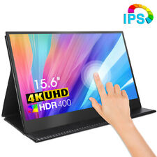 "15.6"" 4K Portable Monitor 3840*2160 FHD USB Type C HDMI Touchscreen IPS Screen"