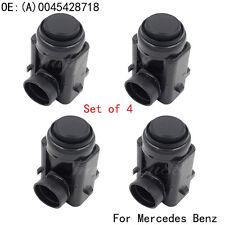 Set (4)  For Mercedes-Benz Parktronic PDC Parking Sensor 0045428718 0015427418