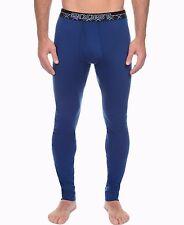 2xist tartan tech men's long underwear size medium 1 per box color midnight blue