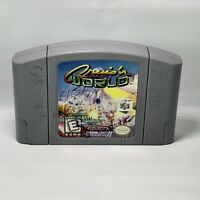 Cruis'n World Cruisin - Nintendo 64 N64 Game - Tested + Working & Authentic!
