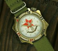 Soviet diver watch VOSTOK Komandirskie Military 1945-1995 50 years of victory