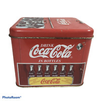 Coca Cola 2000 Tin Container Cooler Drink Coca Cola In Bottles Ice Chest
