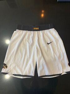 Team Issued Iowa Hawkeyes Basketball Shorts Nike Size  Extra Large  - NWOT