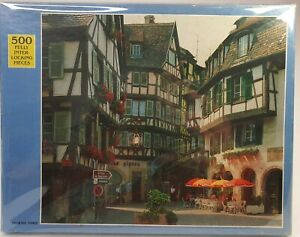 The Rainbow Works Jigsaw Puzzle Grand Rue Fance Retro 500 Piece 38x46cm
