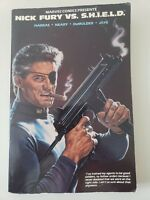 NICK FURY VS. SHIELD TPB 1989 MARVEL COMICS 1ST PRINT! BOB LARKIN ORIGINAL COVER