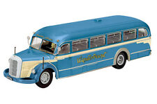 Schuco 1/43 Mercedes Benz 06600 Tour Bus Blue/Cream Wanderfreund RESIN 450274800