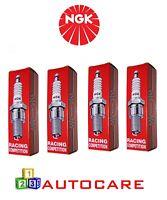 X4 R7437-9 - NGK Spark Plug Sparkplug - Type : Racing - R74379 No. 4654