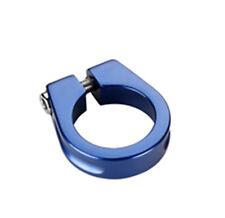 Abrazadera Cierre AZUL de Aluminio para Tija y Cuadro de 31,8 mm Bicicleta 3684