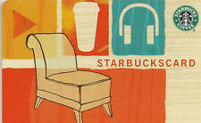 Starbucks Gift Card - Comfy Chair - Hear Music - iTunes - Collector Perfect