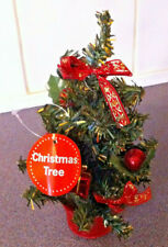 Christmas Tree For Your Desk 25cm High- Great Decoration To Celebrate The Season