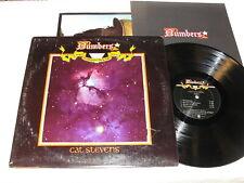 """Cat Stevens """"Numbers"""" 1975 Rock LP, Nice NM-!, Original Die Cut Cover, +Booklet"""