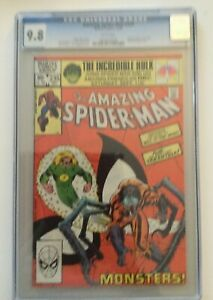 AMAZING SPIDER-MAN #235 Marvel 1982 CGC Graded 9.8 WHITE Pages SPECTACULAR