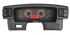 Dakota Digital 87-89 Ford Mustang Analog Dash Gauge Carbon Fiber Red VHX-87F-MUS