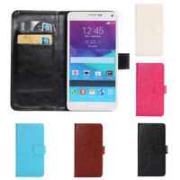 Flip Case Magnetic Mobile Phone Cover Durable For 5.3-5.5 inch Universal Leather