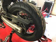 Rear wheel & good COND Contimotion tire 99 00 01 02 Suzuki SV650 160/60ZR17