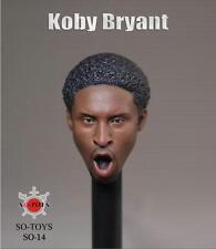 sotoys 1/6 black headplay Kobe Bryant head sculpt SO-014
