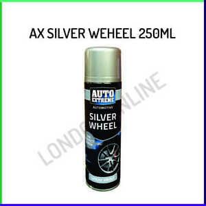 Auto Extreme Silver Wheel Spray Paint Restore Metal Alloy 250ml