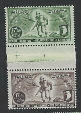 Belgique België   PA12/13** mnh**  Bastogne  paire 17F5+62F5  brun/vert  1946