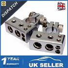 2x HEAVY DUTY Silver Plated Car Battery Terminals (Positive/Nagative) 4,8 AWG UK