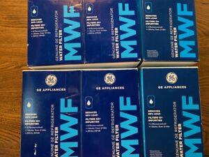 MWF Water Filter for GE Refrigerators  6pk Genuine GE Appliance Filter