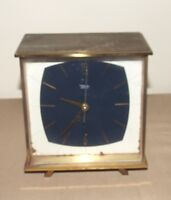 VINTAGE 1930's DIEHL ELECTRO SHELF CLOCK MADE IN GERMANY