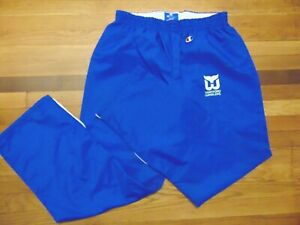 VINTAGE 80'S CHAMPION TEAM ISSUED NHL HARTFORD WHALERS WARM UP PANTS SIZE XL