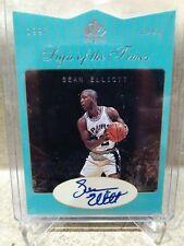 97-98 Sean Elliott SP auto. Spurs
