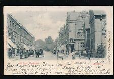 Surrey London WIMBLEDON Hill Rd Rakers Stores delivert cart 1901 u/b PPC