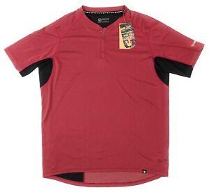 NEW Canari Mens Bernies Cycling Biking Jersey Rio Red Back Zippered Pocket Sz XL