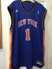 New York Knicks Player 1 Customized NBA Jersey  Blue  Size: XL