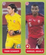 Panini Sticker Fußball EM Euro 2020 Tournament 2021 Nr. 38 Sommer & Akanji Bild
