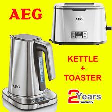 AEG EWA7800-U + AT7800-U 7 Series Stainless Steel Digital Kettle & Toaster