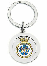 HMS RANGER KEY RING (METAL)