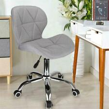 Cushioned Swivel Computer Office Desk chair Chrome legs Adjustable Hight (257)