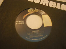 Ozzy Osbourne Changes/No More Tears 45 RPM 1993 Epic Records EX