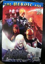 Secret Avengers #1 First Print Marvel (2010) Nova Black Widow Moon Knight