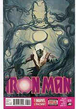 IRON MAN #26 - MICHAEL DEL MUNDO COVER ART - MARVEL NOW! - 2014