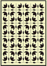 """Crafts Too Embossing Folder """"Folk Ornaments"""" Ctfd3056 For Cards & Scrapbooking"""