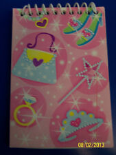 Princess Party Little Girls Pink Fairy Tale Kids Birthday Party Favor Notepad