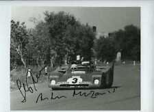 MERZARIO & Munari Ferrari 312 PB vincitori TARGA FLORIO 1972 firmato Fotografia