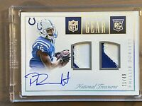 2015 National Treasures Phillip Dorsett AUTO Jersey PATCH RC, RPA SP #/49, Colts