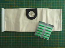 Vax Wet & Dry Cloth Bag + Pack of Ten Green Air Freshners