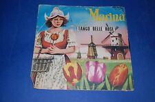 TANGO DELLE ROSE MARINA 45 giri Revival folk Barbara - Emy e Tony 1969