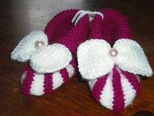 Femmes Tricoté à la main Chaussons/pantoufles, taille 5.