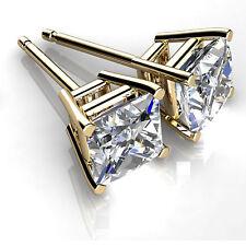 Ebay 14K Yellow Gold Earring 2.00 ct Diamond Stud Women Jewelry VVS1/D 2047